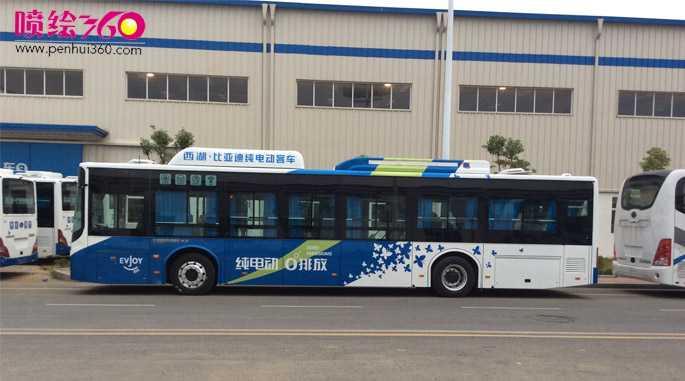 深圳巴士车身广告喷绘制作4000197297 深圳车身广告制作厂家