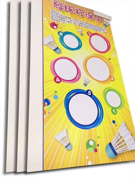 香港运动会kt板喷画制作不起泡pvc板喷绘制作4000-197